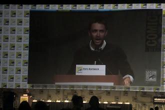 Photo: Friday - The Walking Dead panel; host Chris Hardwick