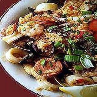 Cajun Shrimp Jambalaya.