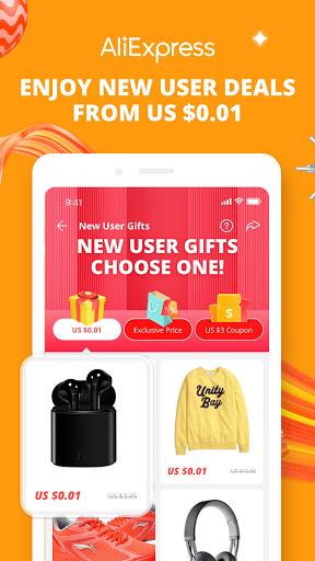 AliExpress - Smarter Shopping, Better Living screenshot 1