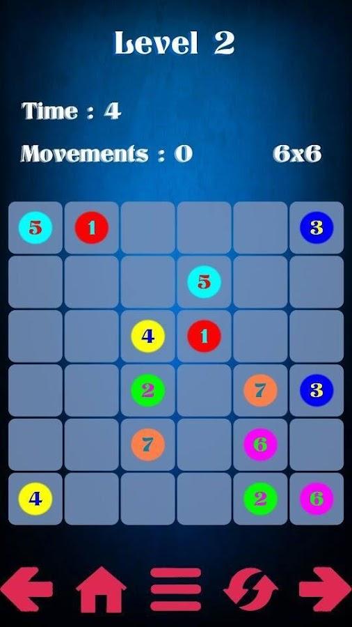 اللعبة الرائعة لربط الالوان وستعمال الدكاء Connect Colors Game
