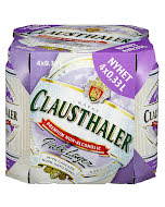 Clausthaler Pale Lager 0,33 l 4 pk bx - inkl. pant