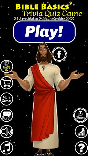 Bible Basics Trivia Quiz Spiel Screenshots 1