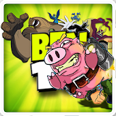 Bacon pig Jetpack