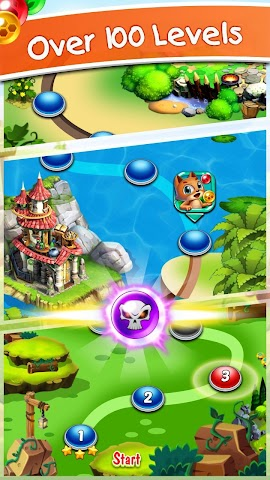android Witch's Cat Bubble Pop Screenshot 1