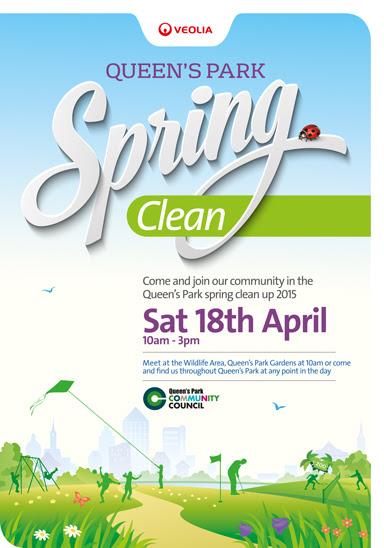 Queen's Park Spring Clean