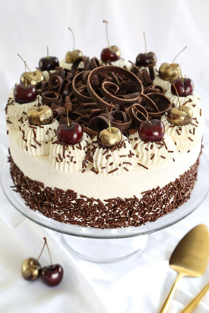 Classic Black Forest Cake Recipe