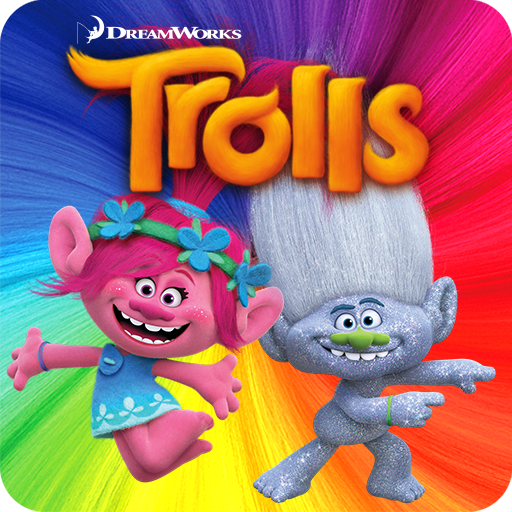 Trolls: Crazy Party Forest! 街機 App LOGO-硬是要APP