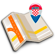 Map of Croatia offline