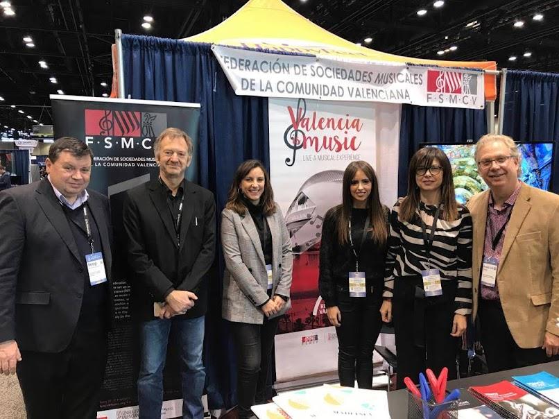 La FSMCV promociona en Chicago a las sociedades musicales de la Comunidad Valenciana