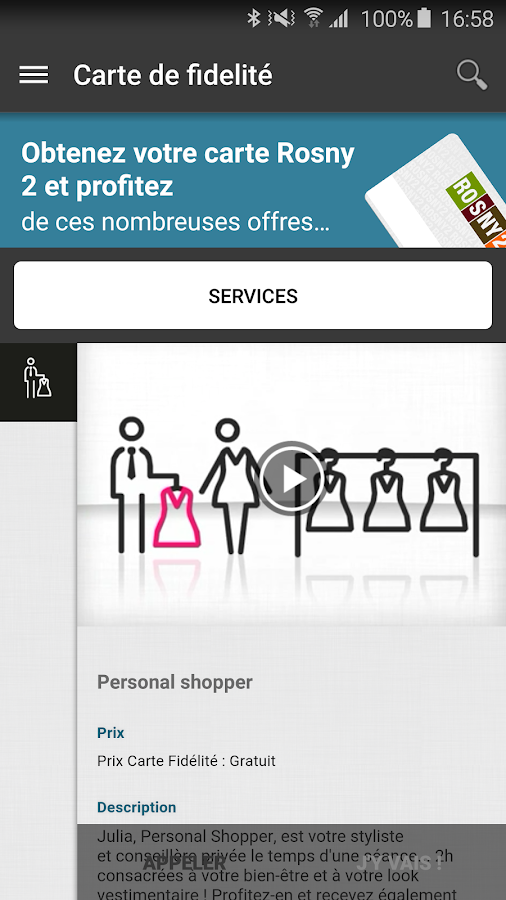 Rosny 2 applications android sur google play - Horaire rosny 2 ...