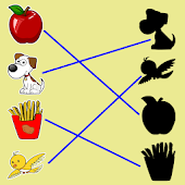 Match The Picture Shadow, Kids Matching Game Android APK Download Free By ACKAD Developer.