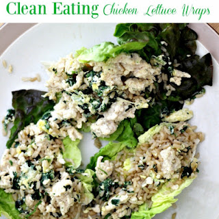 Clean Eating Chicken Lettuce Wraps