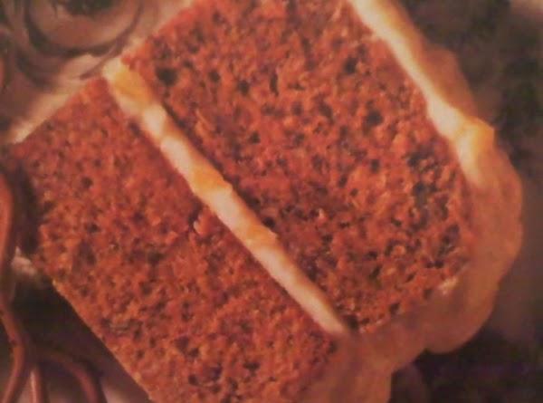 Zucchini Spice Cake With Pineapple Cream Cheese Icing Recipe