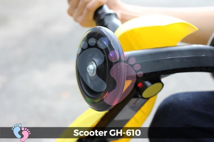 Xe trượt Scooter GH-610 gấp gọn 12