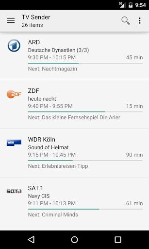 TVHClient  screenshots 1