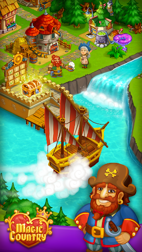 Magic City: fairy farm and fairytale country for Android apk 3