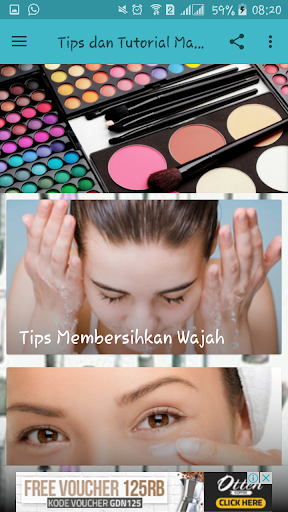 Tips dan Tutorial Make Up 1.2 screenshots 2