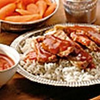 Babi Pangang - krokant varkensvlees met Chinese saus