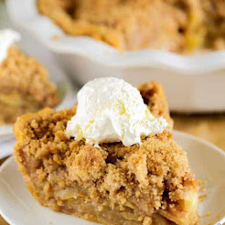 The Best Apple Crumb Pie Ever!.