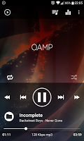 screenshot of Mp3 player - Qamp