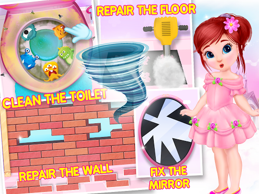 Princess House Cleanup For Girls: Keep Home Clean 22.0.0 8