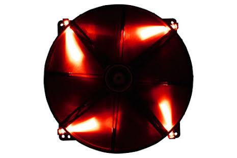 Bitfenix vifte m/rød LED, Spectre, 200x20