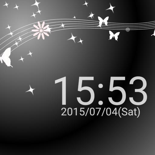 蝶と時計のライブ壁紙 Free 無料版 個人化 App LOGO-硬是要APP