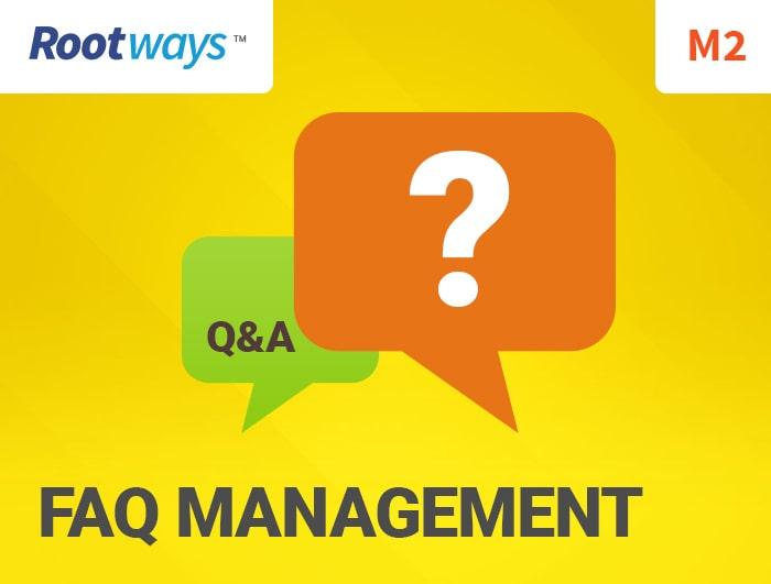 FAQ management