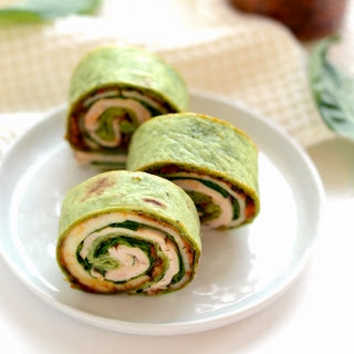 Sun-Dried Tomato Turkey Roll-Ups.