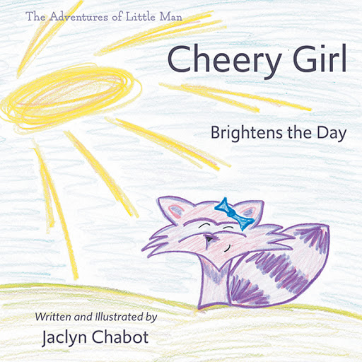 Cheery Girl Brightens the Day cover