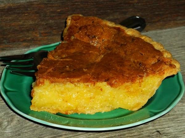 Pineapple Chess Pie Recipe