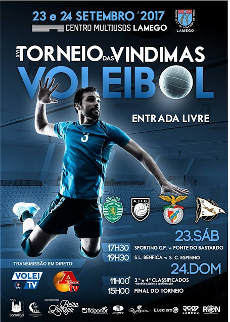 """""""Torneio das Vindimas"""" atrai as melhores equipas de voleibol"""