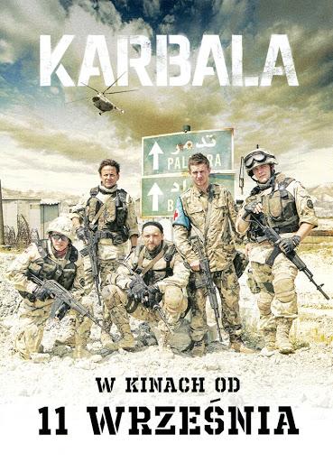 Przód ulotki filmu 'Karbala'