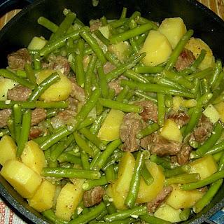 Lamb Green Beans Stew Brandenburg Style