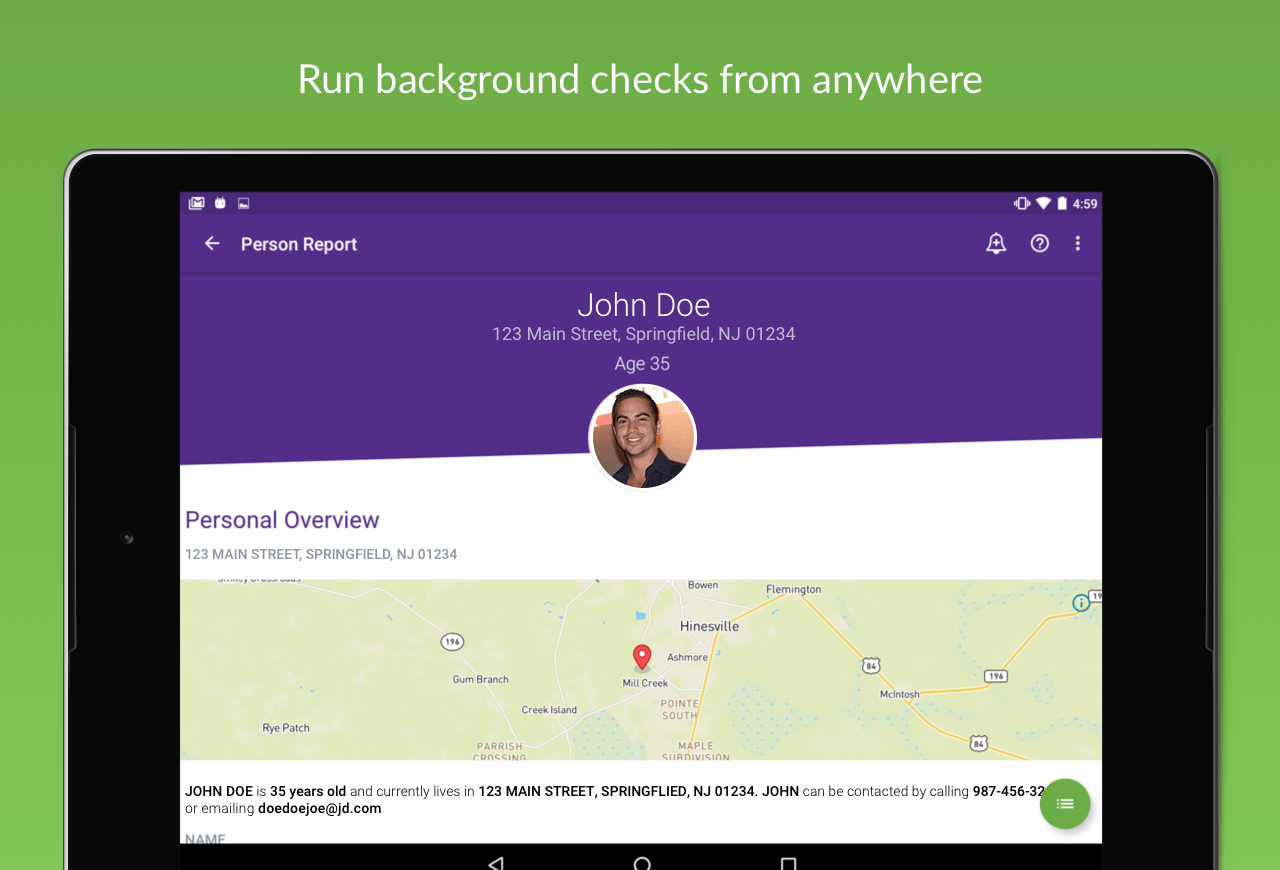 Background Check BeenVerified- screenshot