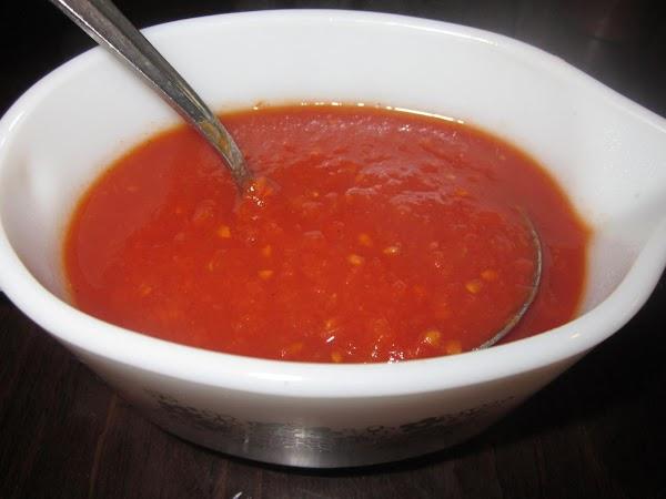 Homemade Fresh Tomato Sauce Recipe