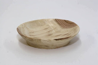 "Photo: Don Van Ryk, 4"" locust dish"