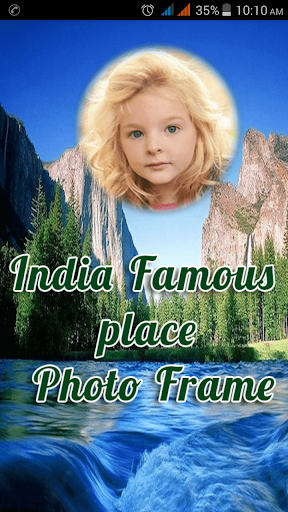 India Famous Place Photo Frame