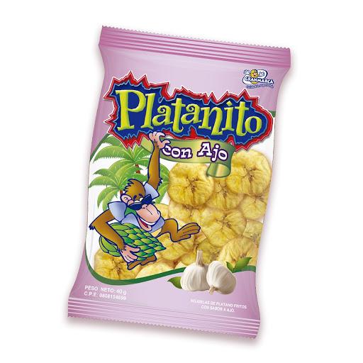 snack platanito granmarca ajo 40gr