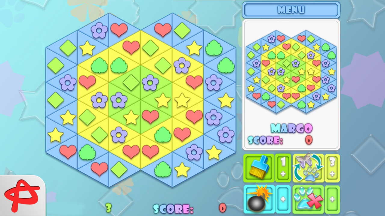 Fitz 2: Magic Match 3 Puzzle- screenshot