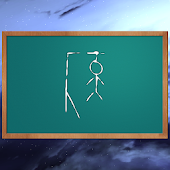 Hangman game in space 3D