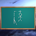 Hangman game in space 3D icon