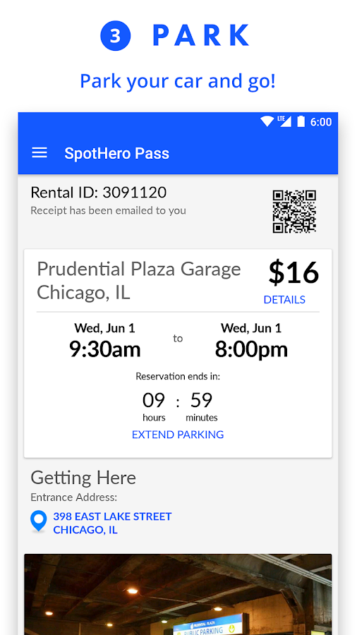 SpotHero: Parking Deals Nearby- screenshot