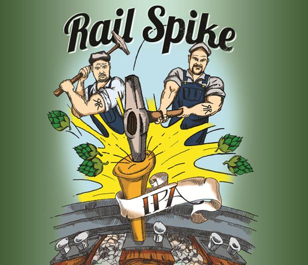 Logo of Rail Spike IPA