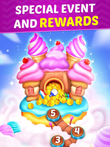 Ice Cream Paradise - Match 3 Puzzle Adventure screenshots 23