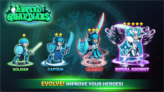 ApkMod1.Com Epic Knights: Legend Guardians - Heroes Action RPG + (Free Shopping) for Android Game Role Playing