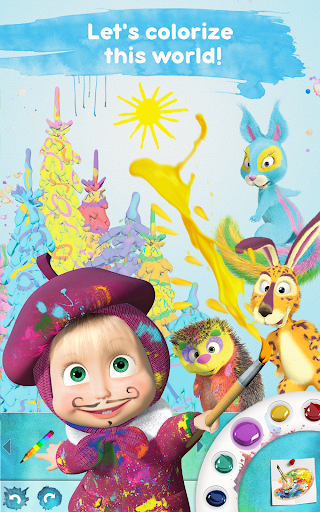 Masha and the Bear: Free Coloring Pages for Kids 1.0.3 screenshots 9