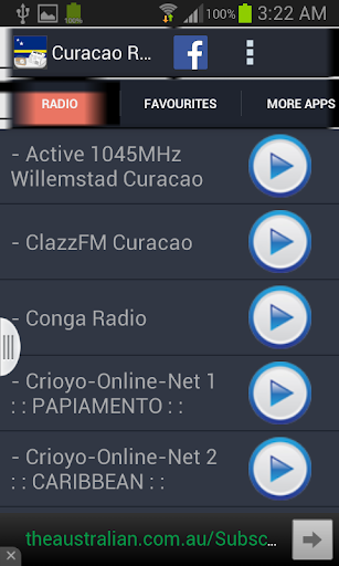Curacao Radio News