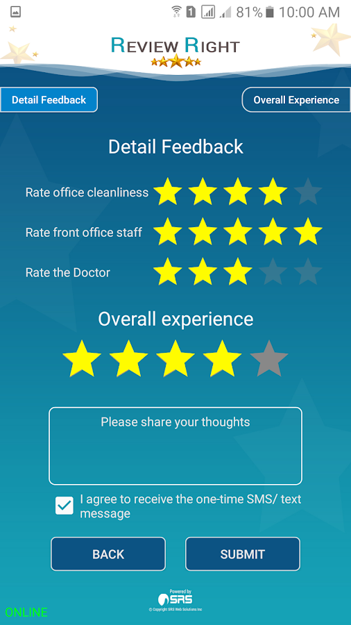 Review Right- screenshot