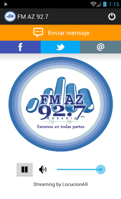 FM AZ 92.7- screenshot